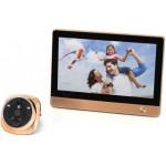 Видеоглазок дверной с Wi-Fi и датчиком движения i-Corder iHome 4 (Rollup i4)