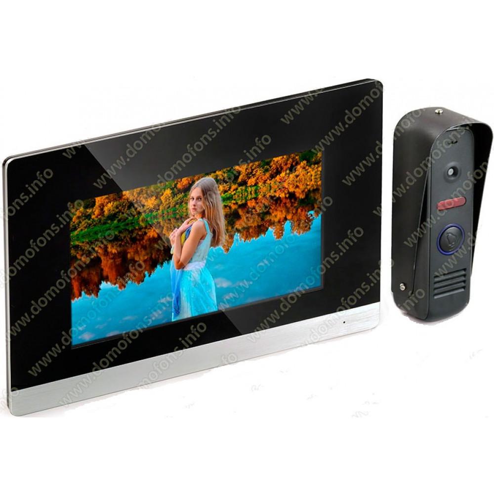 Цветной видеодомофон с записью HDcom S-711T