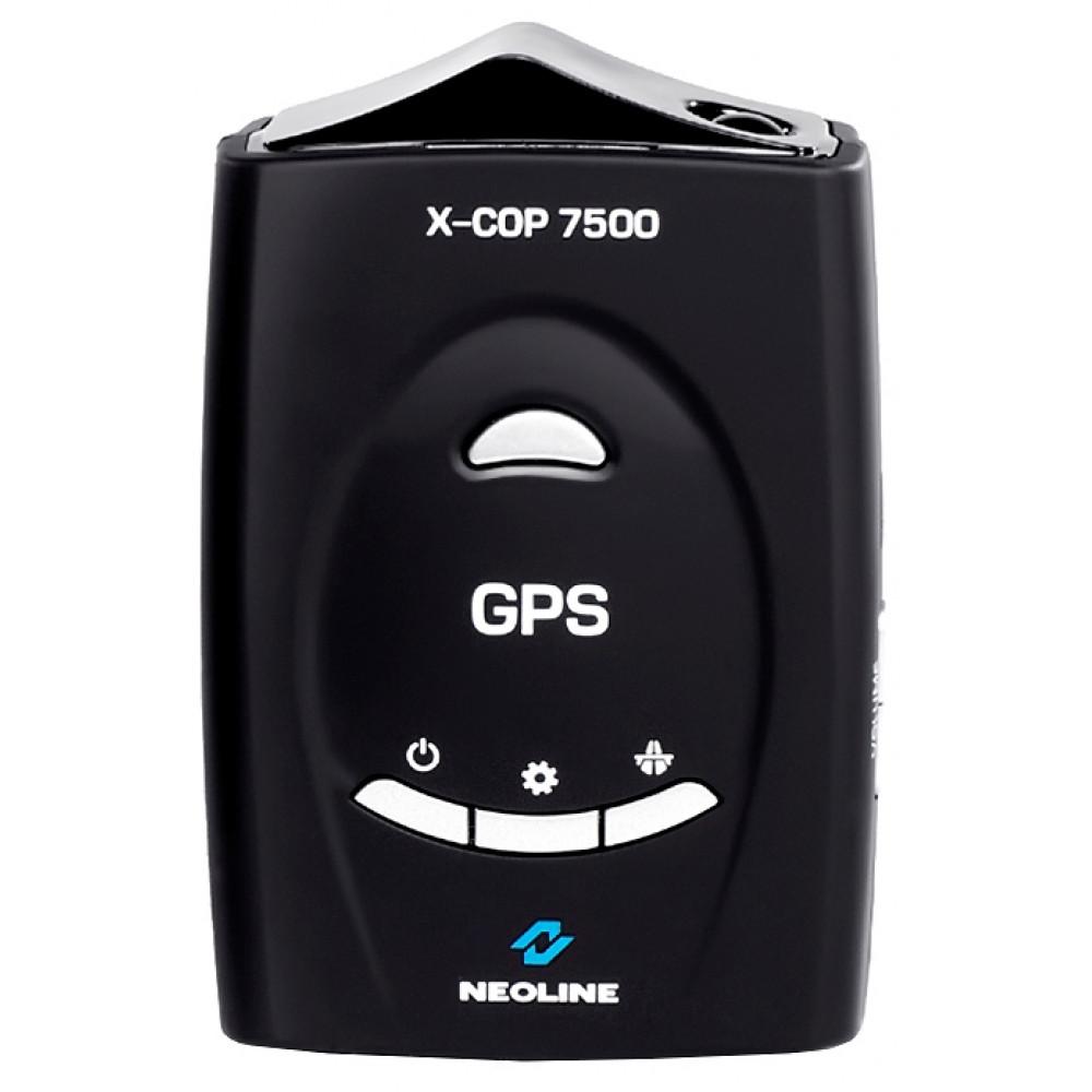 Радар-детектор с функцией антистрелка и GPS информатором Neoline X-COP 7500