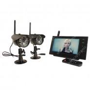 Беспроводной IP видеокомплект DUO Склад Автоном