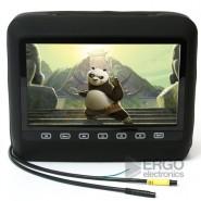 Автомобильный DVD подголовник с монитором 9 дюймов Ergo ER 9HD