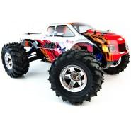 Радиоуправляемый внедорожник монстр 4WD на нитрометане Monster Truck HSP 1:10 (94188)