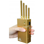 Подавитель gsm, 3G, gps и аналоговой частоты переносной BugHunter 1050 gps (Скорпион 5XL)