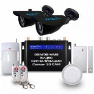 Комплект GSM сигнализации Sapsan 3G Cam Дача
