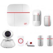 Комплект GSM/Wi-Fi сигнализации Страж Видео-Home