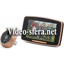 Видеоглазок с записью по датчику движения и большим дисплеем i-Corder Sensor GSM