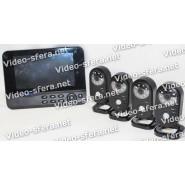 Беспроводной видеокомплект Квадро Home LCD