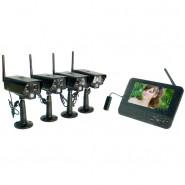 Беспроводной IP видеокомплект Квадро Офис LCD IP