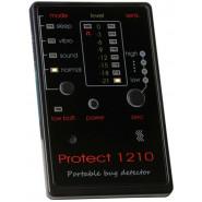 Компактный профессиональный детектор жучков на аккумуляторе Protect 1210