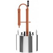 Медный самогонный аппарат Cuprum Steel Omega