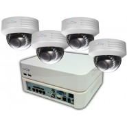 Комплект IP видеонаблюдения IVUE Office Pro IP 4CH