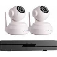 Комплект IP видеонаблюдения IVUE Офис Wi-Fi 2 Cam