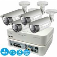 Комплект IP видеонаблюдения IVUE Sklad IP 4CH