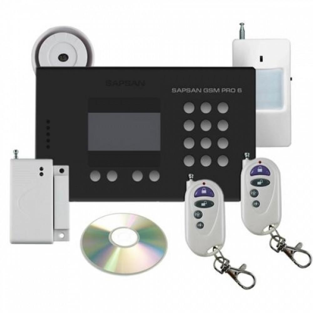 Комплект GSM сигнализации Sapsan GSМ Pro 6