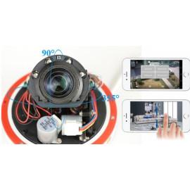 Купольная поворотная WiFi IP камера 2Mp с 5x zoom и звуком MiCam IP4 Audio