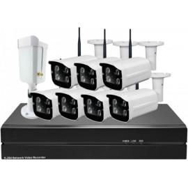 Цифровой 5Mp Wi-Fi IP комплект видеонаблюдения на 4-8 камер Millenium 5048W