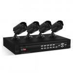 Проводной аналоговый комплект видеонаблюдения Ucontrol Эконом 7S