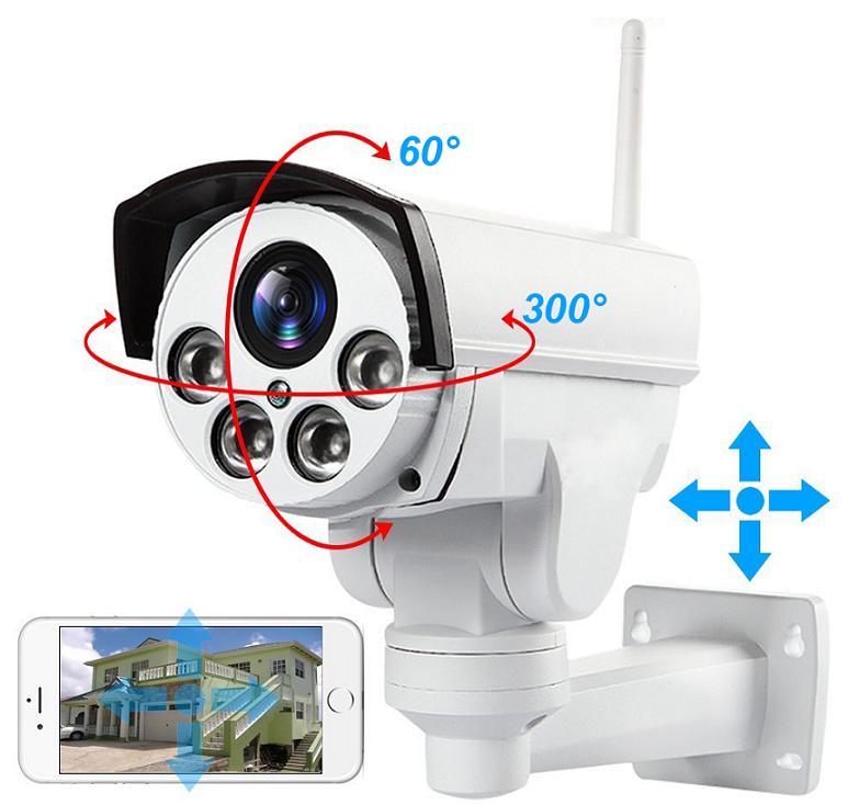 27.Уличная поворотная Wi-Fi IP камера c 5х (10х) zoom и звуком Millenium Street PTZ Wi-Fi