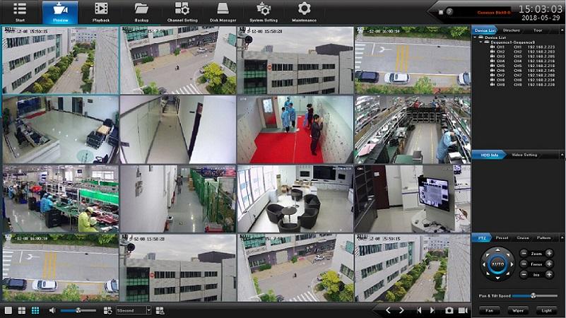 Цифровой комплект видеонаблюдения на 4(8) уличных 5Mpx камер Millenium PRO IP POE